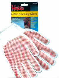 Cotton Grooming Gloves
