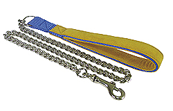 Heavy Chain Dog Lead