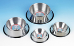 Non-Tip Stainless Steel Dishes